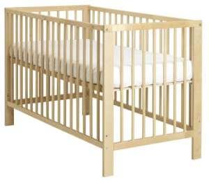 ikea babybett 70x140 cm in wei mit matratze kaufen us79. Black Bedroom Furniture Sets. Home Design Ideas