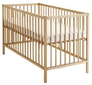 Kinderbett ikea  Ikea Babybett 70x140 cm in weiß mit Matratze kaufen | Beistellbett ...