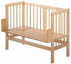 anstellbettchen weiss aus naturholz beistellbett test. Black Bedroom Furniture Sets. Home Design Ideas