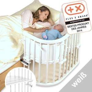babybay beistellbett komplett maxi in wei f r mein baby beistellbett test. Black Bedroom Furniture Sets. Home Design Ideas