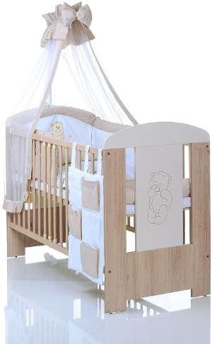 babybett komplett set in wei als angebot g nstig kaufen beistellbett test. Black Bedroom Furniture Sets. Home Design Ideas