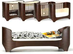 juniorbett leander wei umbaubar zu kinderbett 70 x 160 beistellbett test. Black Bedroom Furniture Sets. Home Design Ideas