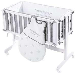 beistellbett baby g nstig easy in wei kaufen beistellbett test. Black Bedroom Furniture Sets. Home Design Ideas